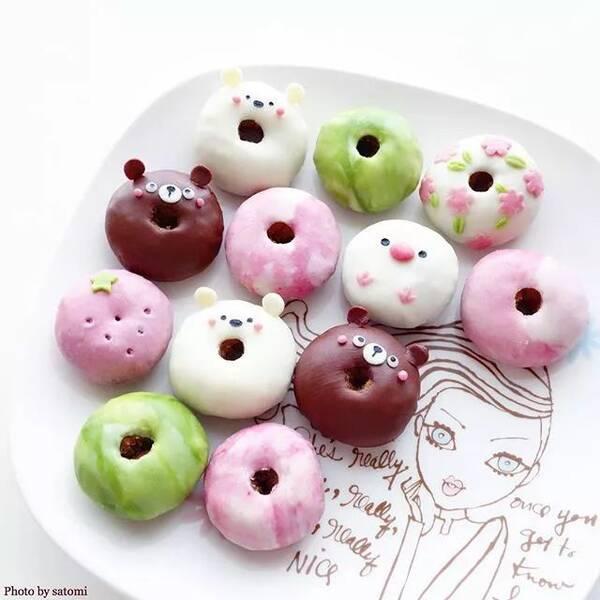 这位日本小姐姐制作的超级可爱的卡通甜品,每一个都惊艳了朋友圈!