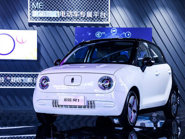 12月26日,长城汽车旗下纯电动车——欧拉r1正式开卖.图片