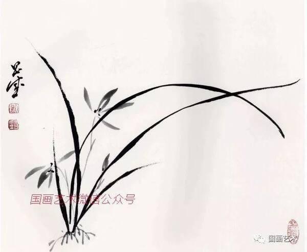 图文教程:兰花画法步骤详解