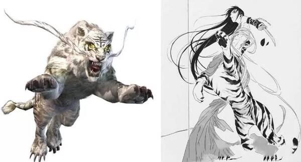 白虎骚屌_上古四神兽变成少年,白虎最霸气,朱雀反差最大?
