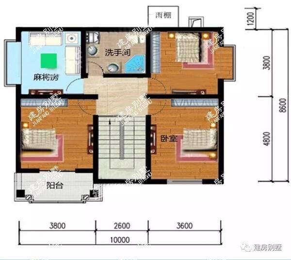 长20米宽10米房子图纸