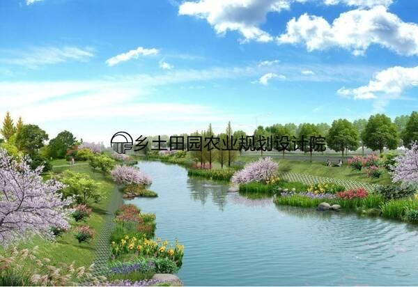 高处亭子景观图手绘图