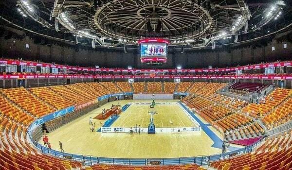 青岛国信体育馆nba升级后,将举办2019cba全明星赛!