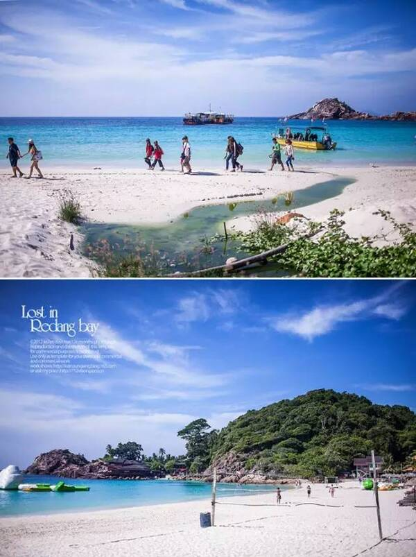 这3个海岛相隔不远,景色类似,所以放在一起比较 景色:热浪6.5分,浪中与停泊岛5.5分 3个海岛里面热浪岛景色最好,长沙滩也是3个群岛里面最美的。浪中岛和大小停泊岛特点是宁静,风景也不错,浮潜或者水肺也很合适。 特色4分:是东南亚中规中矩的海岛,都是酒店出门就是沙滩,走下海就是浮潜冲浪。 交通7分:这3个群岛都是可以亚航飞哥打巴鲁或者登嘉楼,然后车船联运。 舒适:热浪7分,浪中6.
