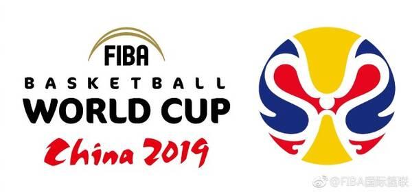 """关键词:会徽  2019男篮世界杯logo亮相,源自京剧似""""二龙戏珠""""图片"""