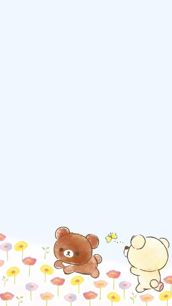 可爱卡通熊