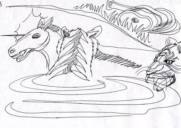常州淹城野生动物园活驴喂老虎丨画说新闻