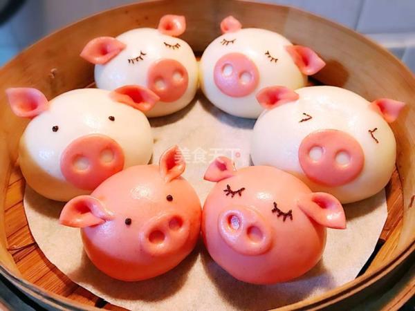 猪猪馒头_小猪馒头