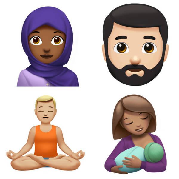 为庆祝世界emoji日 苹果透露ios11全新表情包!图片