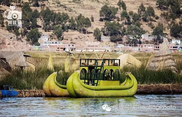 """秘鲁,的的喀喀湖上童话般的""""浮岛浮生"""""""