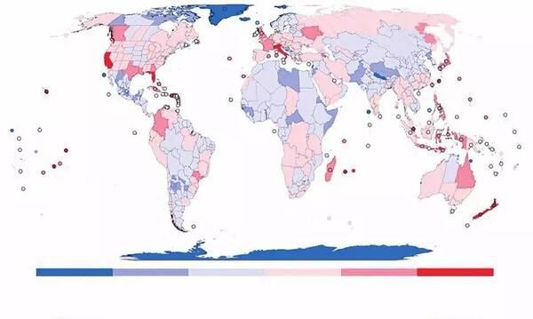 科学家首绘物种入侵地图: 岛屿和沿海地区入侵尤甚