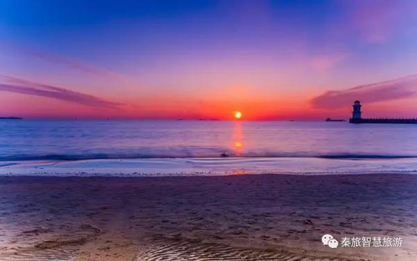 秦皇岛的海是有画面感的.