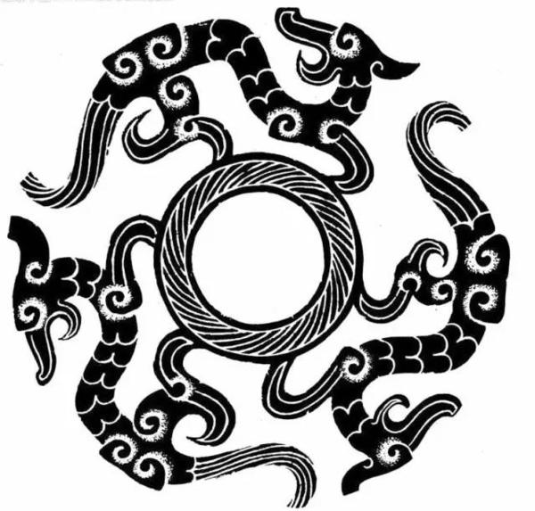 ▼▼▼ · 饕餮纹 · · 夔纹 · (图片来源于互联网,798手绘网整理