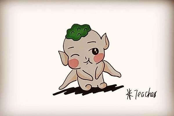 胡巴简笔画教程 怎么画出可爱的胡巴(8)_卡通动漫简笔画   5068儿童网