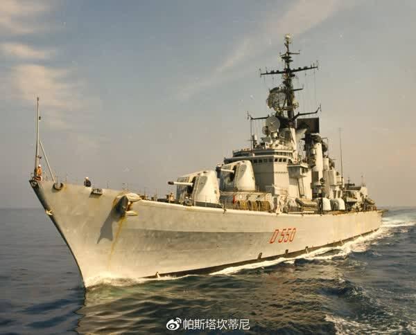 大胆级驱逐舰_意大利海军勇敢级防空驱逐舰