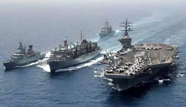 航母奶妈 服役 中国航母编队补齐最后一块拼图