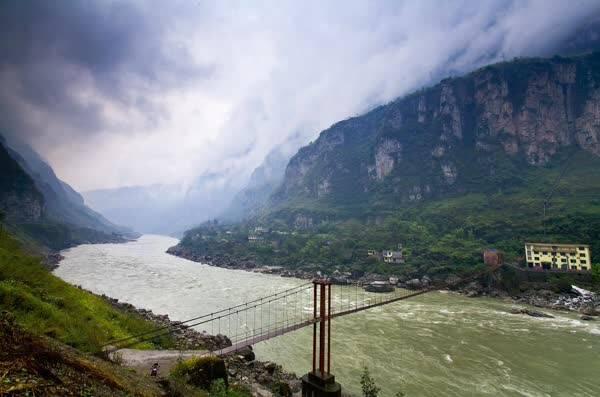 便是对大渡河金口大峡谷最佳的诠释.