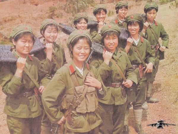 没有她们就没有胜利,中越边境自卫还击战中的