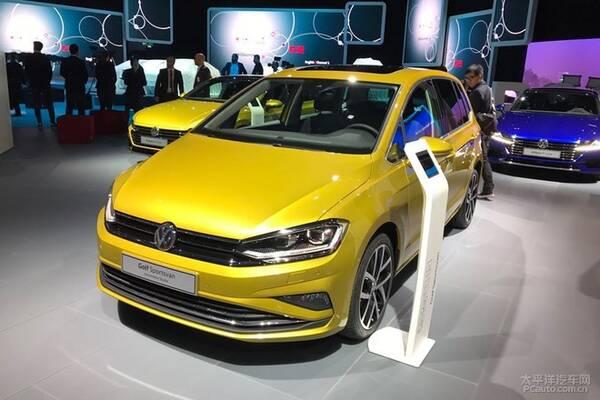 2017法兰克福车展:新款高尔夫sportsvan