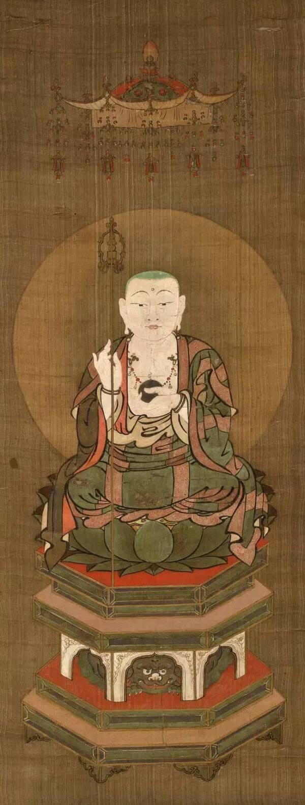 收藏| 十幅历代地藏王菩萨画像精选