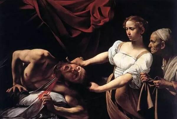 卡拉瓦乔《朱迪斯砍下霍洛芬斯的头颅》