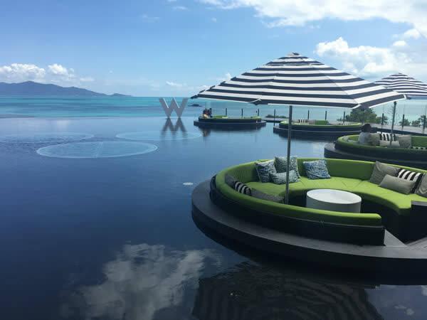 苏梅岛w酒店