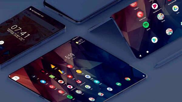 又一手机革命,中兴折叠手机曝光,双屏多任务独