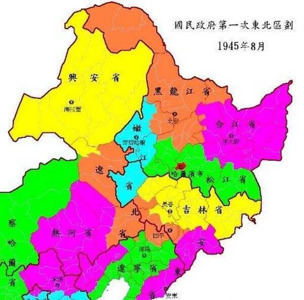 中国地图上消失的省份
