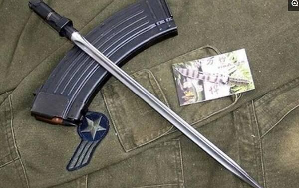 中国战斗力最强悍的几把军刀,三棱军刺排第几