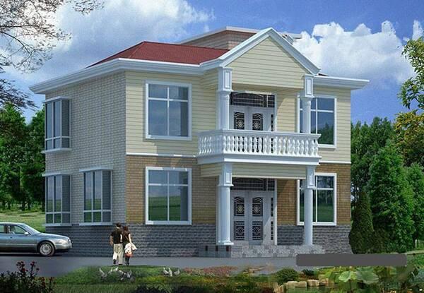 从设计师手上拿来的三款别墅设计图
