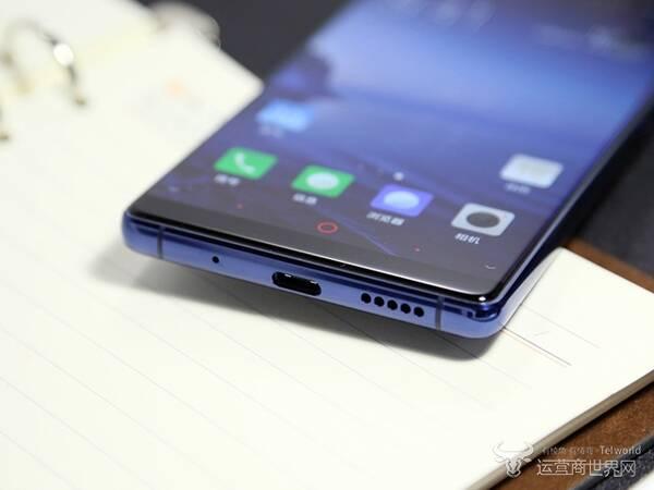努比亚Z17S极光蓝开箱 正面高屏占比背面高颜值