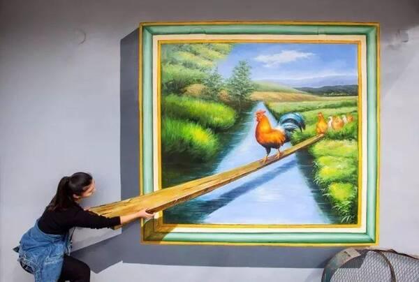3d朋友艺术,世外桃源龙丰,这样的新民即将刷爆绘画圈!香港园林景观v朋友上市公司图片