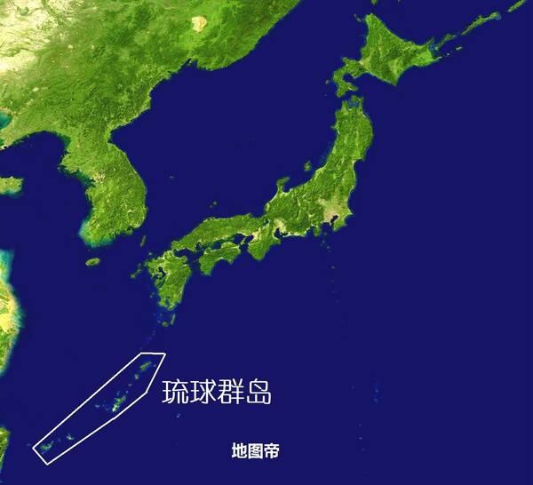 再往北是大隅群岛,几万人都是大和族,是日本九州岛的附属岛屿.
