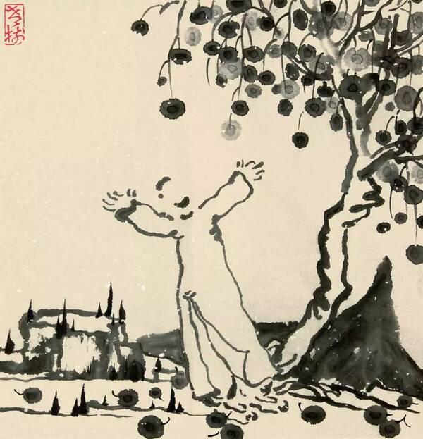老树画画: 乱世绘本,聊以避世