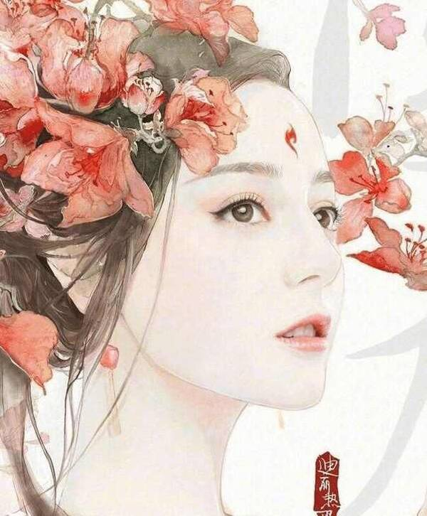 明星手绘图最美造型,娜扎仙气飘飘,迪丽热巴令人怦然