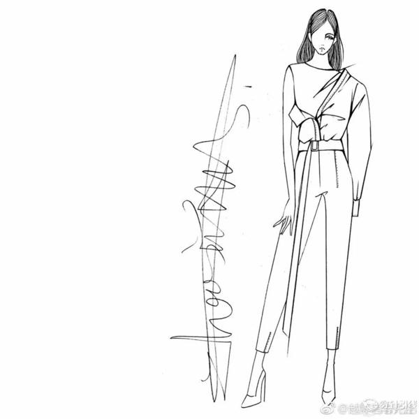 时装手绘 | 服装设计线稿教程篇