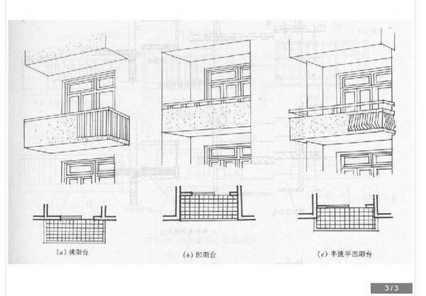 一般的阳台结构分为墙承式,挑梁式,挑板式,每种结构的承重力都是不同