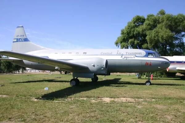 """这架被重新命名为""""北京""""号的飞机1950年8月1日参加了新中国""""中国民航"""