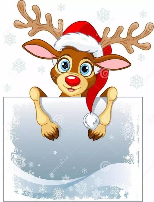 圣诞节驯鹿创意手工制作与圣诞简笔画!