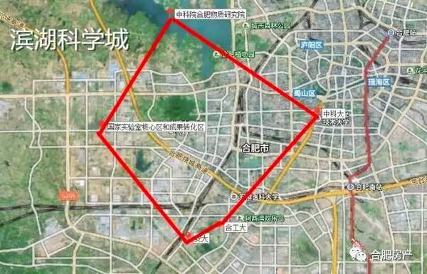 滨湖科学城规划将启动!图片