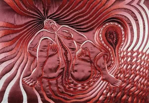 生殖器性交艺术_花朵不仅是植物的生殖器,也是女艺术家的!