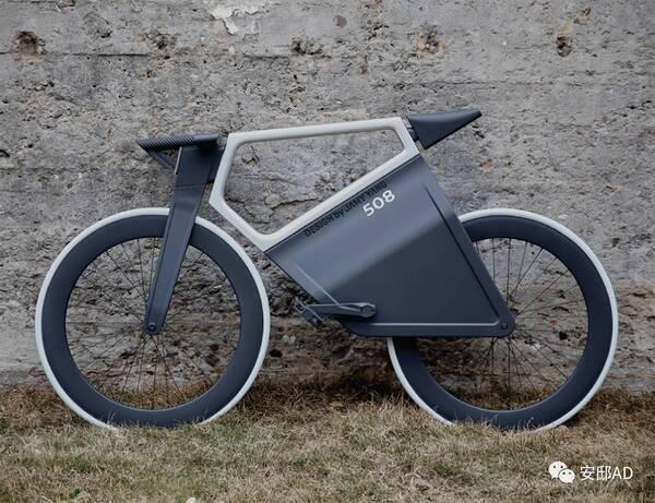 杨明洁工业设计产品508 e-bike智能电动单车图片
