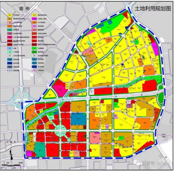 规划范围为东至福州路,西至山东路-哈尔滨路,南至延吉路.