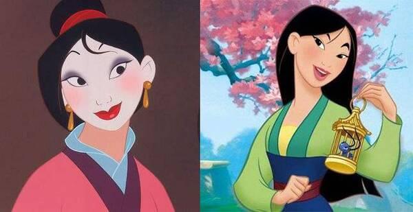 刘亦菲出演花木兰,而迪士尼《花木兰》已不再是我们童年的模样图片