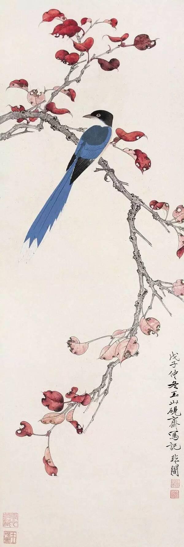 牡丹蜜蜂 翼图本期免费分享《张大林教画花鸟画》视频全集,下期将图片