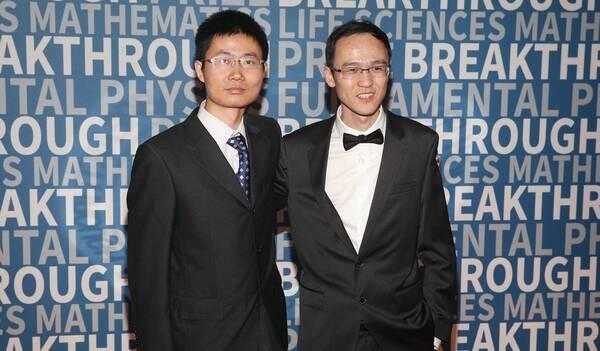 """恽之玮和张伟荣获""""科学奥斯卡"""" - 新视野数学奖"""