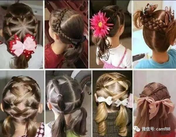 精美凉鞋需要儿童,你的儿童是不是编发换发型了!宝宝发型脚后跟的编发图片