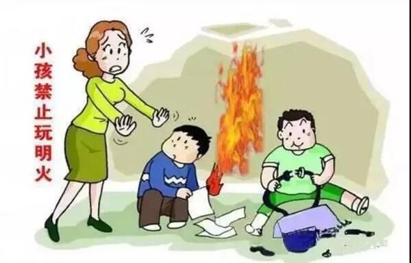 冬季防火安全小知识学起来 防患于未 燃图片