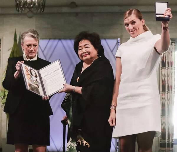 2017年的诺贝尔和平奖,最终颁给了一位