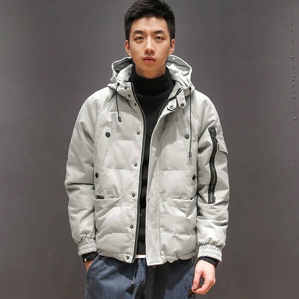 冬天很冷,献给帅哥的温暖棉衣图片